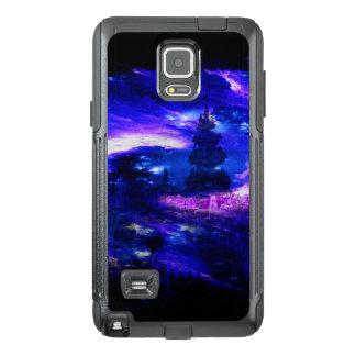 Funda OtterBox Para Samsung Note 4 Sueños Amethyst de Bali del zafiro