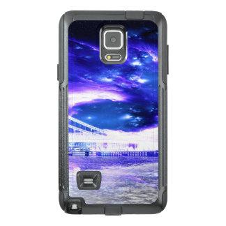Funda OtterBox Para Samsung Note 4 Sueños Amethyst de Budapest del zafiro