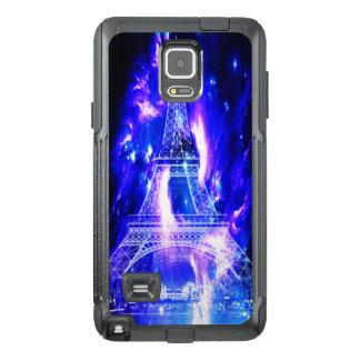 Funda OtterBox Para Samsung Note 4 Sueños Amethyst de París del zafiro