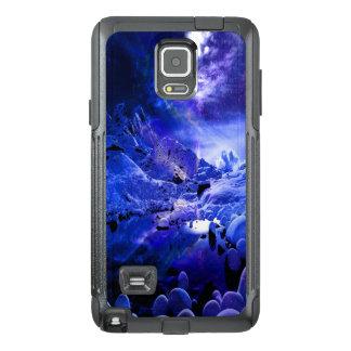 Funda OtterBox Para Samsung Note 4 Sueños de la noche de Yule
