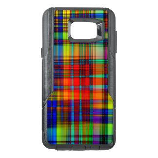 Funda OtterBox Para Samsung Note 5 El extracto colorido raya arte