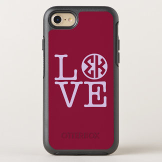 Funda OtterBox Symmetry Para iPhone 8/7 Amor de Kappa de la sigma