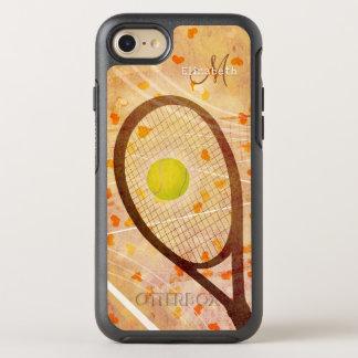 Funda OtterBox Symmetry Para iPhone 8/7 amor femenino del tenis de los corazones con