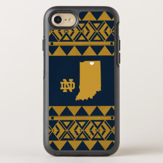 Funda OtterBox Symmetry Para iPhone 8/7 Amor tribal del estado de Notre Dame el |
