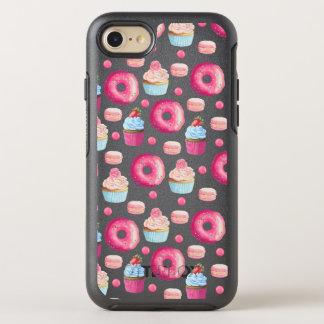 Funda OtterBox Symmetry Para iPhone 8/7 Anillos de espuma Macarons y modelo de la