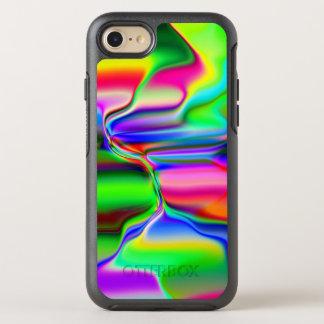 Funda OtterBox Symmetry Para iPhone 8/7 Arco iris de fusión