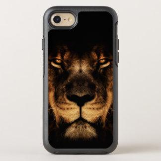 Funda OtterBox Symmetry Para iPhone 8/7 Arte africano de la cara del león