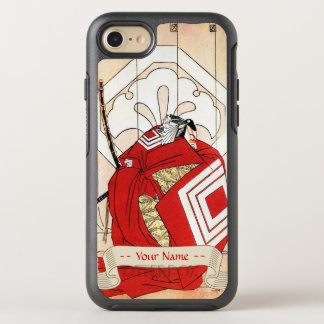 Funda OtterBox Symmetry Para iPhone 8/7 Arte legendario japonés fresco del guerrero del