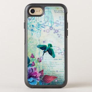 Funda OtterBox Symmetry Para iPhone 8/7 Azul de color de malva del trullo de la lavanda