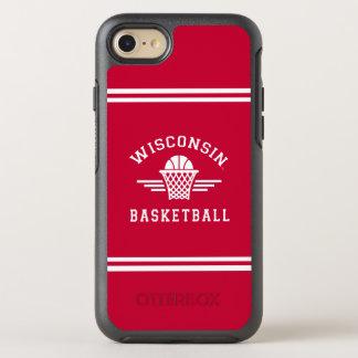 Funda OtterBox Symmetry Para iPhone 8/7 Baloncesto de Wisconsin el |