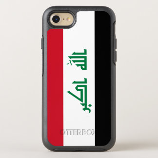 Funda OtterBox Symmetry Para iPhone 8/7 Bandera de Iraq
