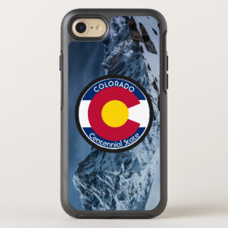 Funda OtterBox Symmetry Para iPhone 8/7 Bandera de la circular de Colorado