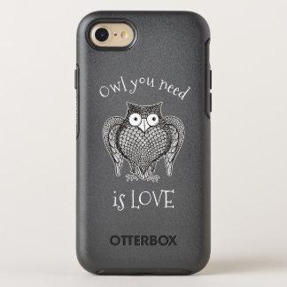 Funda OtterBox Symmetry Para iPhone 8/7 Búho que usted necesita