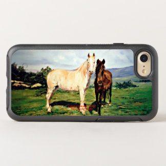 Funda OtterBox Symmetry Para iPhone 8/7 Caballos/Cabalos/Horses