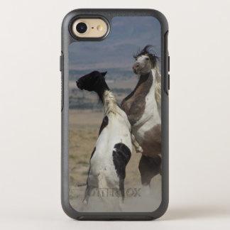 FUNDA OtterBox SYMMETRY PARA iPhone 8/7 CABALLOS SALVAJES DEL CASO IPHONE 6 DE LA NUTRIA