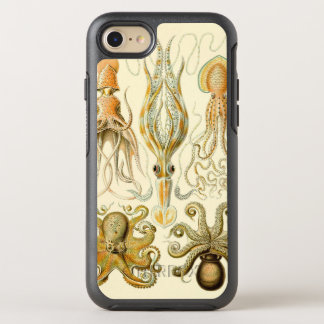 Funda OtterBox Symmetry Para iPhone 8/7 Calamar Gamochonia del pulpo del vintage de Ernst