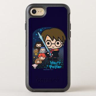 Funda OtterBox Symmetry Para iPhone 8/7 Cámara de Harry Potter del dibujo animado de