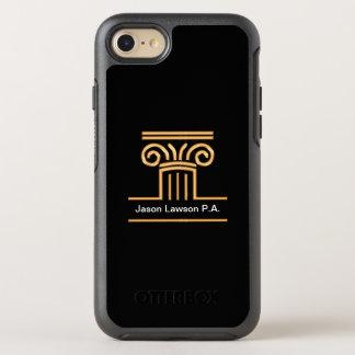 Funda OtterBox Symmetry Para iPhone 8/7 Caso con clase de Smartphone del abogado