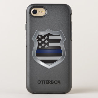 Funda OtterBox Symmetry Para iPhone 8/7 Caso fino del iPhone 7 de Blue Line