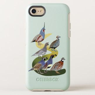 Funda OtterBox Symmetry Para iPhone 8/7 Codornices de BennuBirdy de Norteamérica (ningún