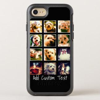 Funda OtterBox Symmetry Para iPhone 8/7 Collage de la foto con el fondo negro