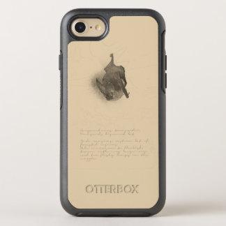 Funda OtterBox Symmetry Para iPhone 8/7 Corynorhinus que dibuja la caja del iPhone de