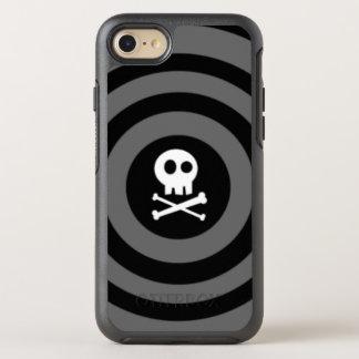 Funda OtterBox Symmetry Para iPhone 8/7 Cráneo del ~ + ~ de la bandera pirata