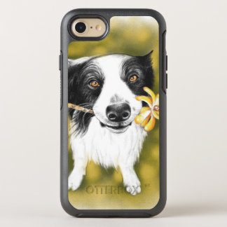 Funda OtterBox Symmetry Para iPhone 8/7 Cutie del border collie