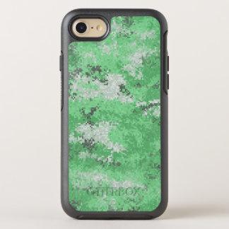 Funda OtterBox Symmetry Para iPhone 8/7 Digi verde Camo
