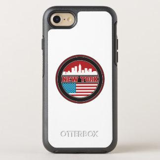 Funda OtterBox Symmetry Para iPhone 8/7 El horizonte el   Estados Unidos de Nueva York