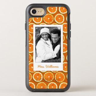 Funda OtterBox Symmetry Para iPhone 8/7 El modelo anaranjado el   de la rebanada añade su