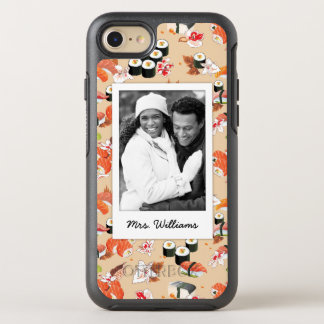 Funda OtterBox Symmetry Para iPhone 8/7 El modelo anaranjado el | del sushi añade su foto