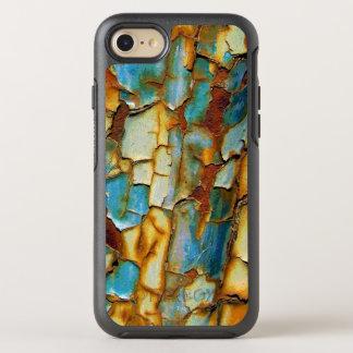Funda OtterBox Symmetry Para iPhone 8/7 El moho azul oxidado corroído del oro crea sus los