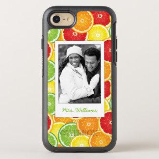 Funda OtterBox Symmetry Para iPhone 8/7 El naranja, el pomelo, la cal y el limón el  