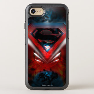 Funda OtterBox Symmetry Para iPhone 8/7 El superhombre Stylized el logotipo futurista del
