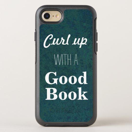Funda OtterBox Symmetry Para iPhone 8/7 Encréspese para arriba con un buen libro