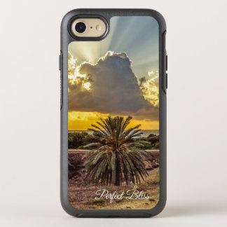Funda OtterBox Symmetry Para iPhone 8/7 Escena perfecta de la playa de la dicha