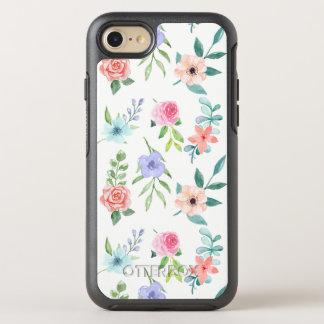 Funda OtterBox Symmetry Para iPhone 8/7 Estilo en colores pastel de la acuarela floral
