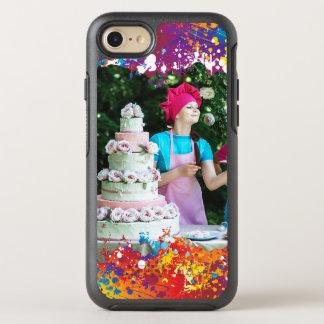 Funda OtterBox Symmetry Para iPhone 8/7 Extracto del chapoteo del arco iris
