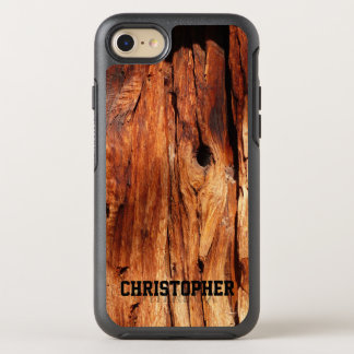 Funda OtterBox Symmetry Para iPhone 8/7 Falso iPhone de madera resistido 7 de la simetría