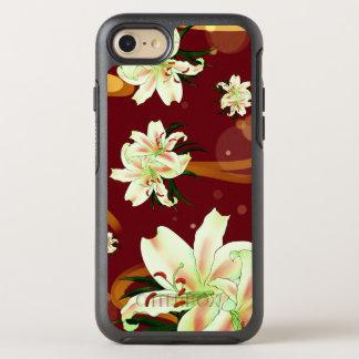 Funda OtterBox Symmetry Para iPhone 8/7 Flor Wanderland del lirio de agua