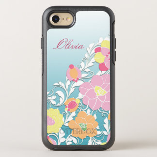 Funda OtterBox Symmetry Para iPhone 8/7 Floral esculpida contemporáneo