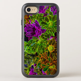 Funda OtterBox Symmetry Para iPhone 8/7 Flores de neón