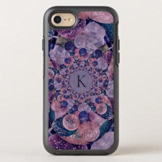 Funda OtterBox Symmetry Para iPhone 8/7 Globos púrpuras y rosados del caleidoscopio del