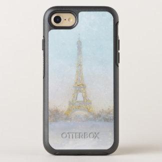 Funda OtterBox Symmetry Para iPhone 8/7 Imagen de la acuarela el | de Eiffel Towe