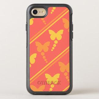 Funda OtterBox Symmetry Para iPhone 8/7 Impresión de las rayas de los puntos de las