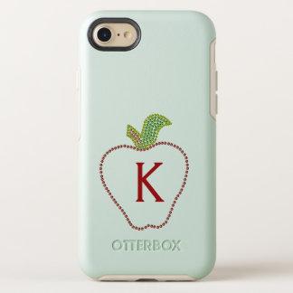 Funda OtterBox Symmetry Para iPhone 8/7 iPhone con monograma de Apple del profesor 7/8
