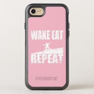 Funda OtterBox Symmetry Para iPhone 8/7 La estela come la repetición #2 de la snowboard