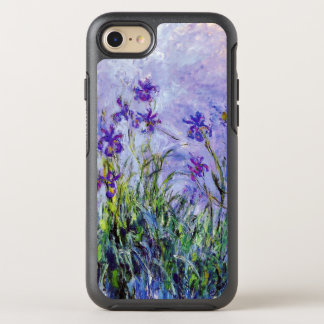 Funda OtterBox Symmetry Para iPhone 8/7 La lila de Claude Monet irisa el azul floral del