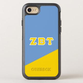 Funda OtterBox Symmetry Para iPhone 8/7 Letras beta del Griego del Tau el   de la zeta